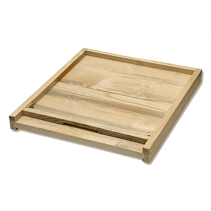 רצפת עץ מלא + פתח כפול